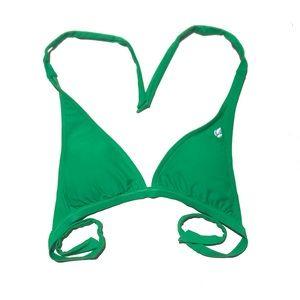 Green Reef Bikini Top sz med